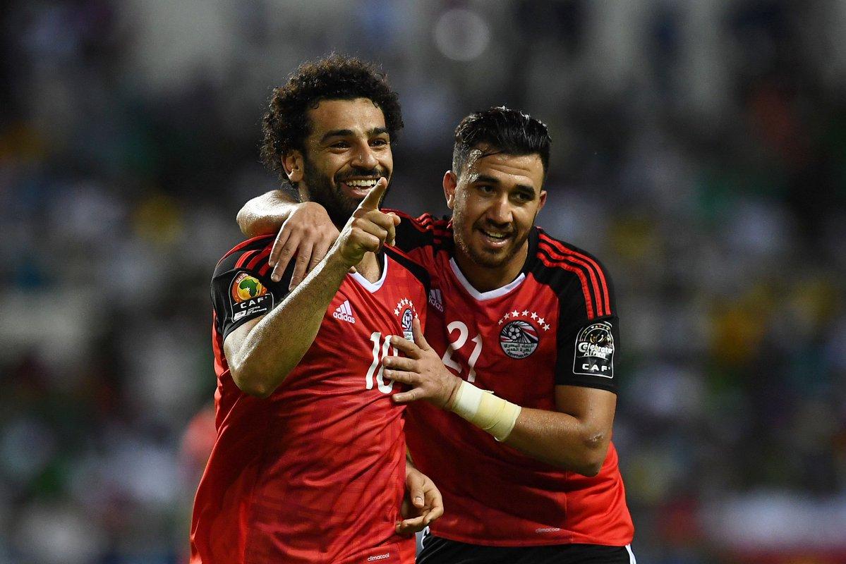 أهداف مباراة مصر والكونغو 2-1 تصفيات كأس العالم