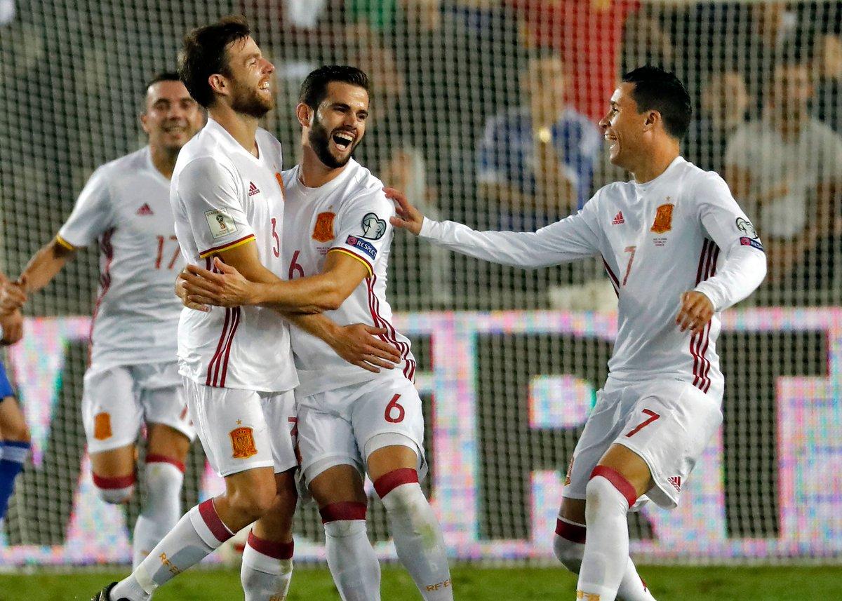 أهداف مباراة إسبانيا وإسرائيل 1-0 تصفيات كأس العالم