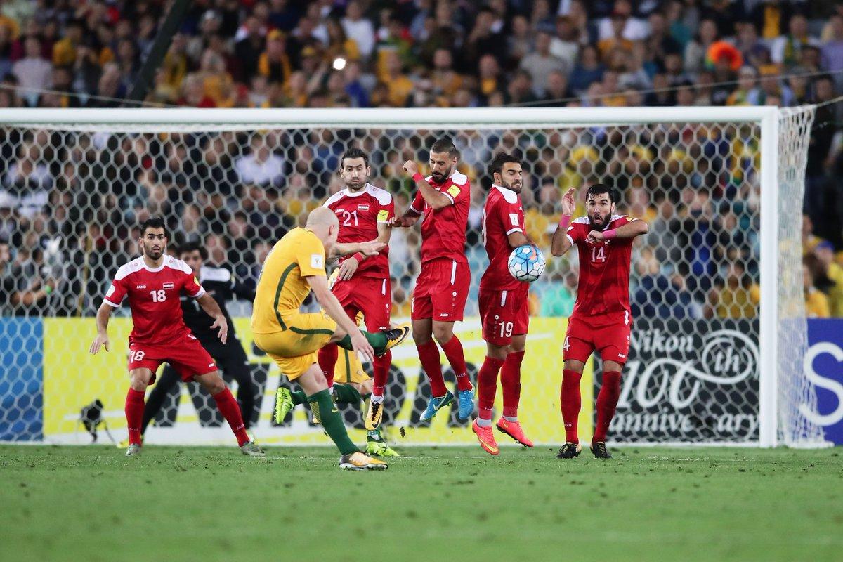أهداف مباراة أستراليا وسوريا 2-1 الملحق الآسيوى المؤهل لبطولة كأس العالم