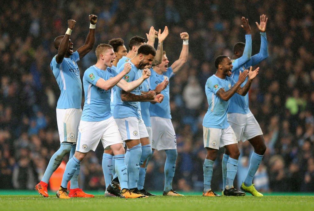 أهداف مباراة مانشستر سيتي وولفرهامبتون 0-0 (4-1) كأس الرابطة الإنجليزية