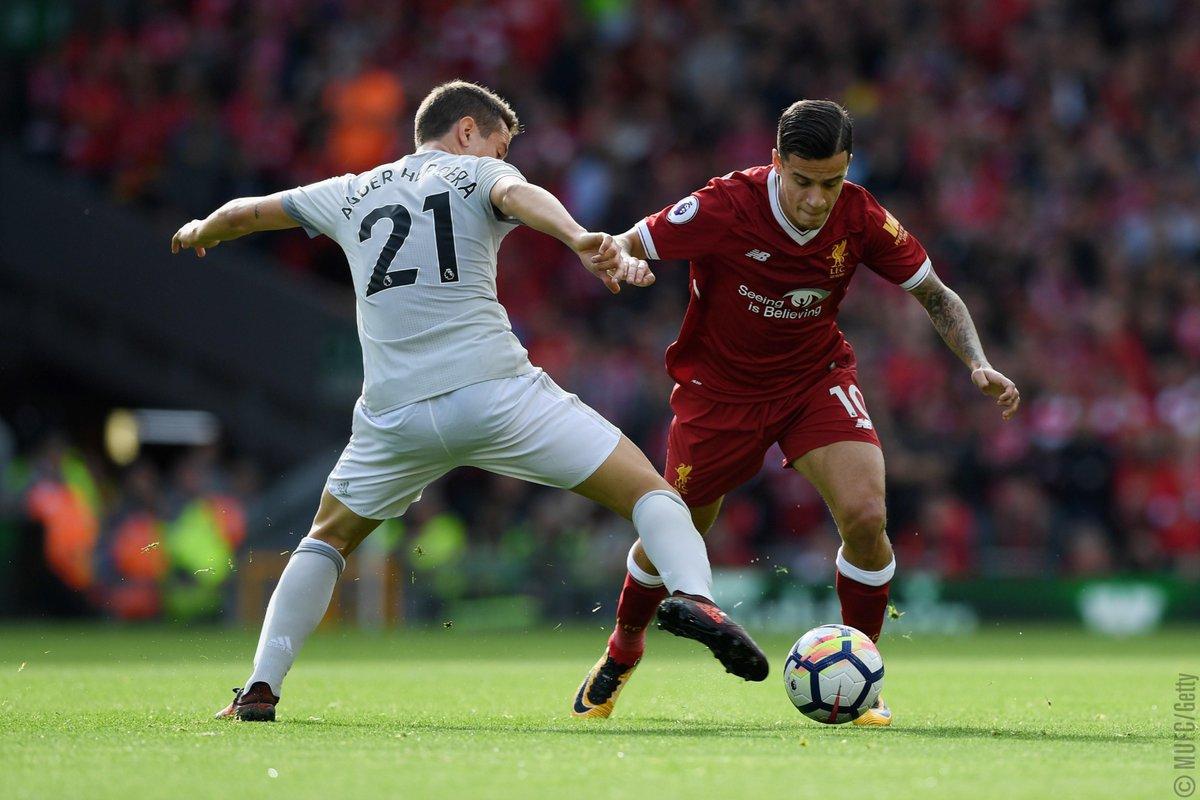 التعادل السلبي يخيم على مباراة ليفربول ومانشستر يونايتد في الدوري الإنجليزي