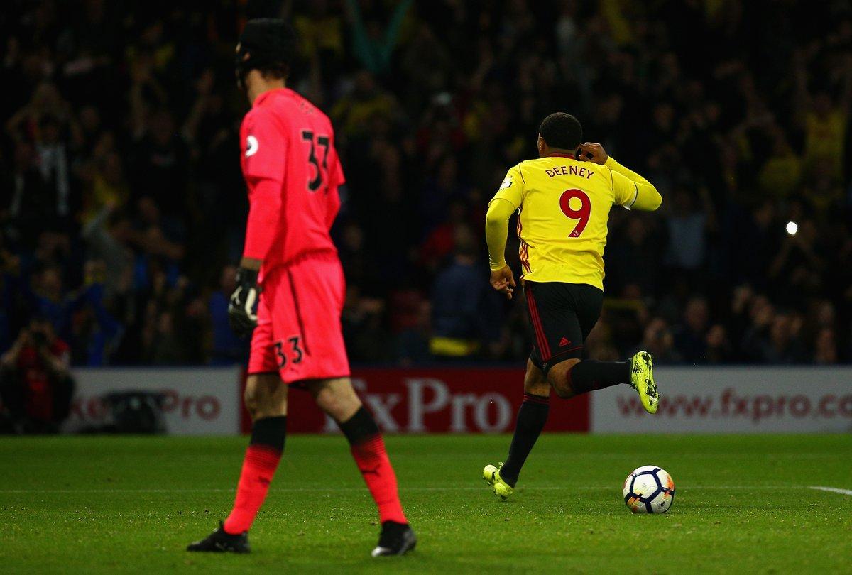 أهداف مباراة واتفورد وأرسنال 2-1 الدوري الإنجليزي
