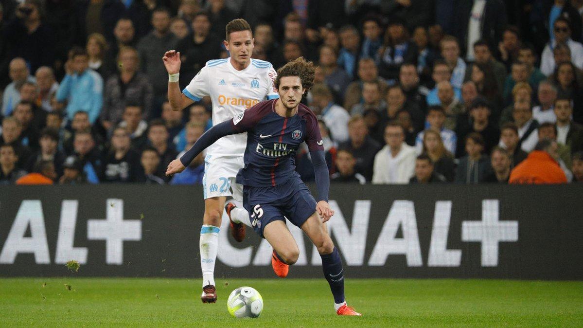 أهداف مباراة مرسيليا وباريس سان جيرمان 2-2 الدوري الفرنسي