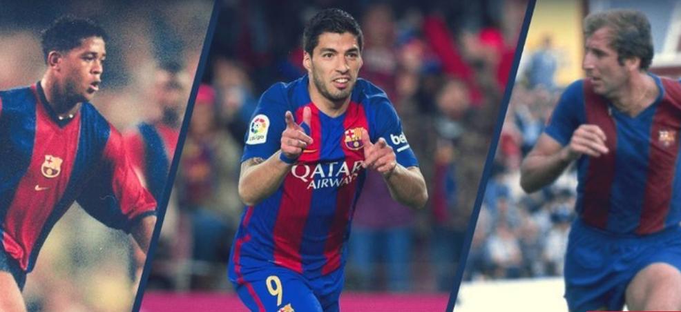 قائمة الهدافين التاريخيين لبرشلونة في الدوري الإسباني