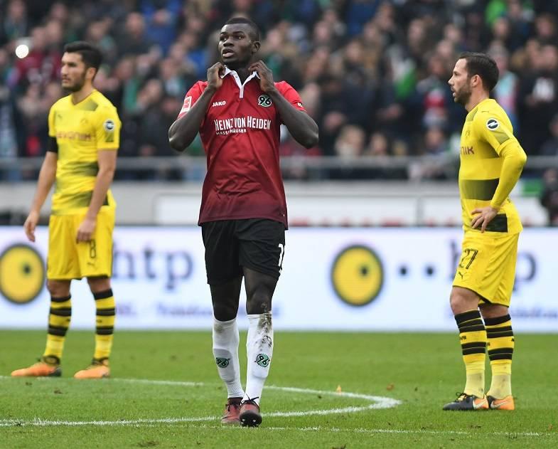 أهداف مباراة هانوفر وبروسيا دروتموند 4-2 الدوري الألماني