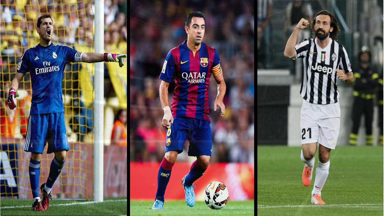 أبرز 10 لاعبين في العالم فوق 35 عاماً