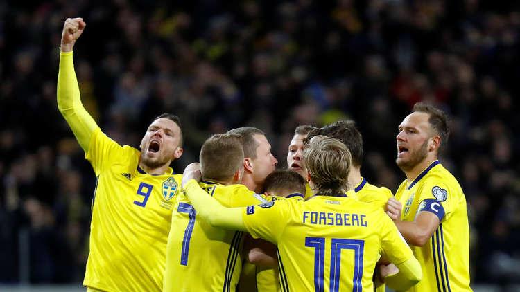 أهداف مباراة السويد وإيطاليا 1-0 ملحق كأس العالم 2018