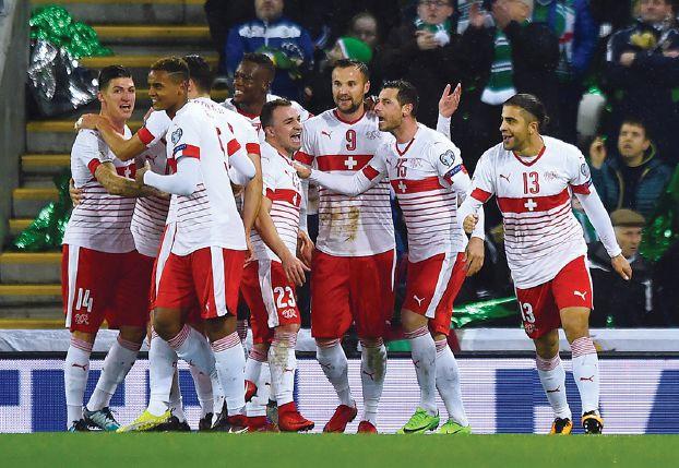 أهداف مباراة سويسرا وإيرلندا الشمالية 1-0 ملحق كأس العالم