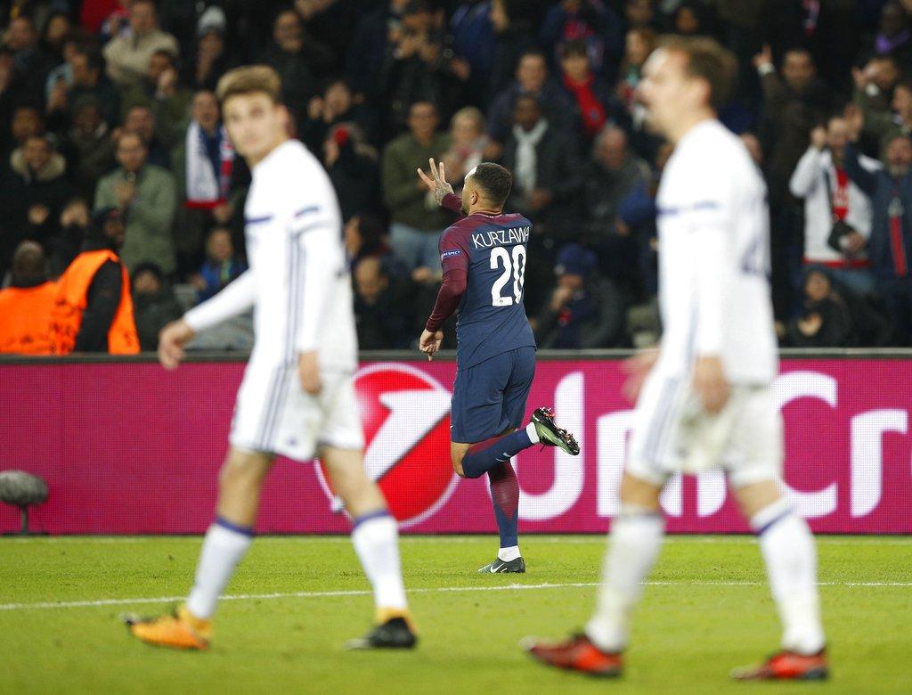 أهداف مباراة باريس سان جيرمان وأندرلخت 5-0 دوري الأبطال