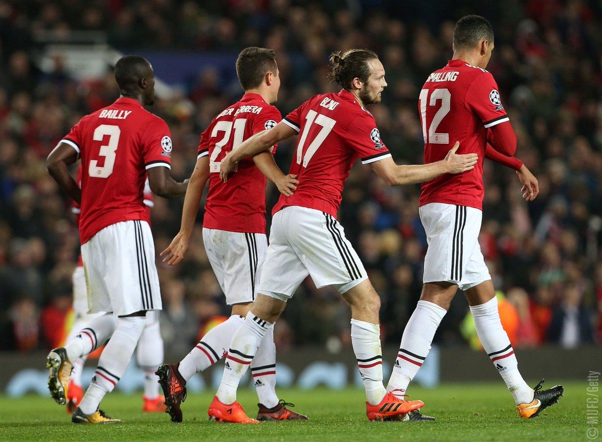 أهداف مباراة مانشستر يونايتد وبنفيكا 2-0 دوري الأبطال