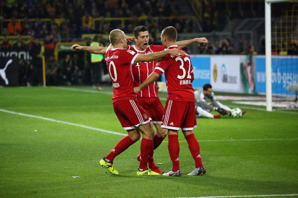 أهداف مباراة بايرن ميونخ وبروسيا دروتموند 3-1 الدوري الألماني