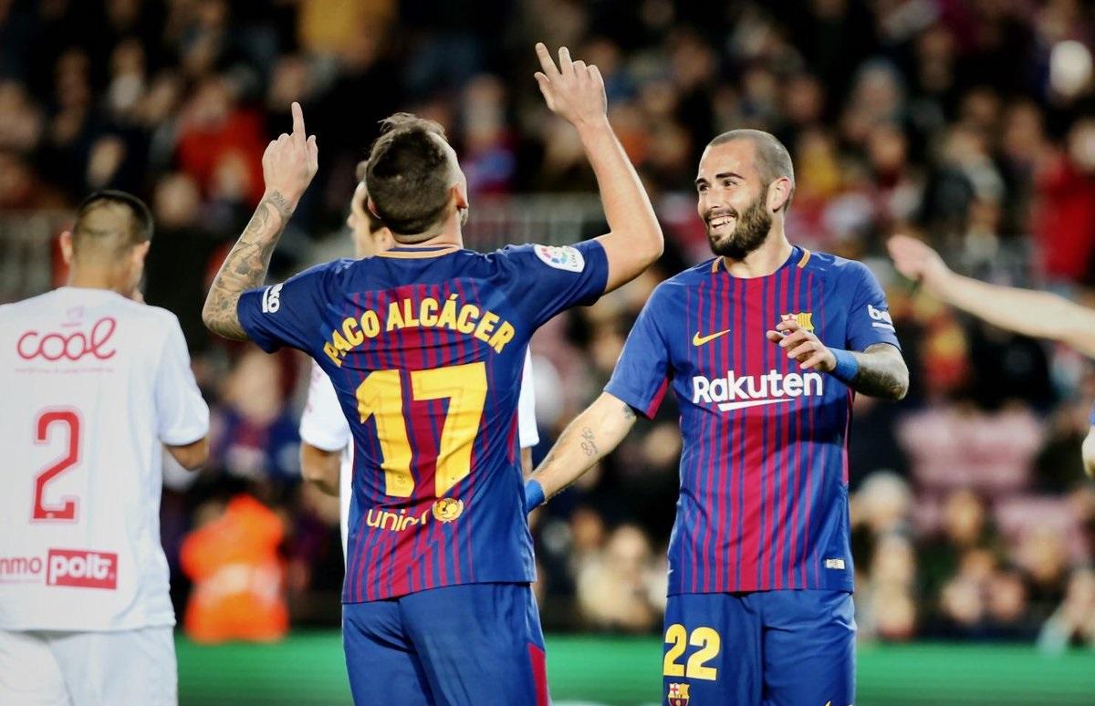 أهداف مباراة برشلونة وريال مورسيا 5-0 كأس ملك إسبانيا