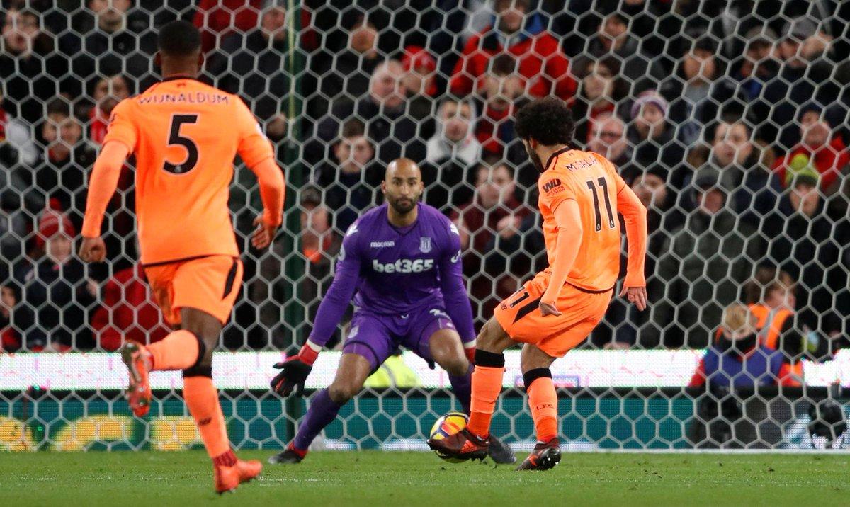 أهداف مباراة ليفربول وستوك سيتي 3-0 الدوري الإنجليزي