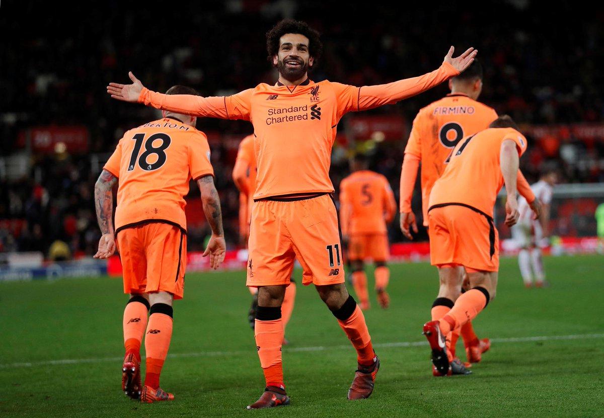 المصري محمد صلاح يواصل كتابة التاريخ مع ليفربول