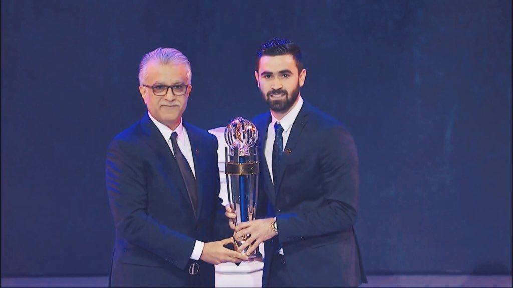 رسمياً … عمر خربين أفضل لاعب آسيوي في 2017
