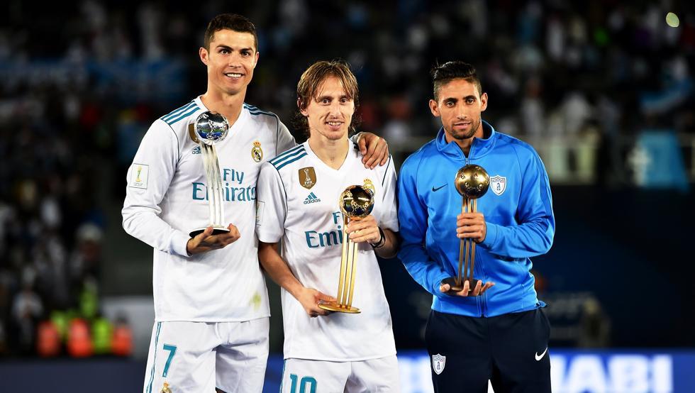 رسمياً … لوكا مودريتش افضل لاعب في بطولة كأس العالم للأندية