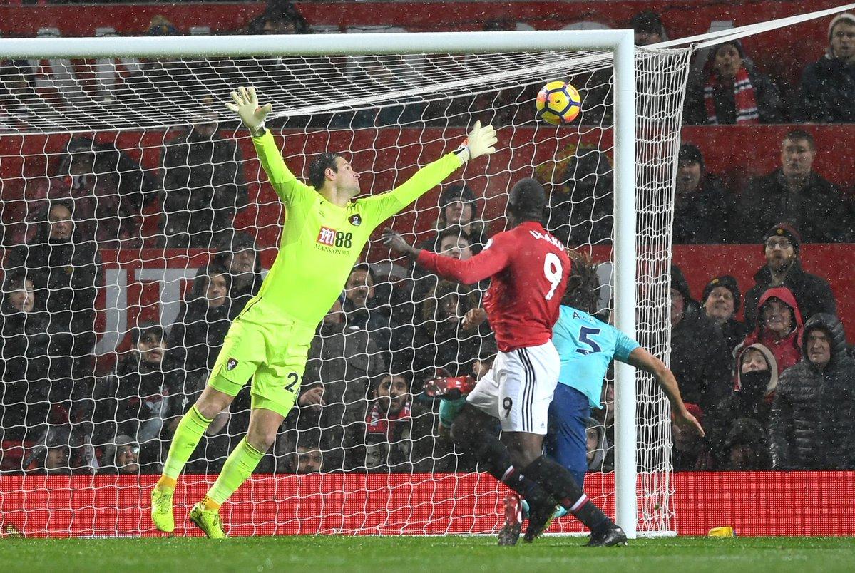 أهداف مباراة مانشستر يونايتد وبورنموث 1-0 الدوري الإنجليزي