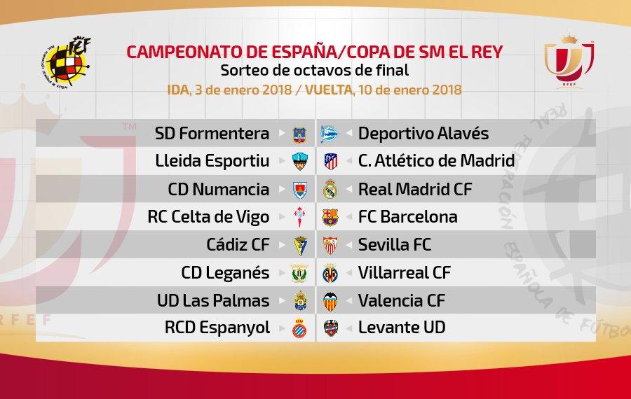 عاجل: قرعة كأس ملك إسبانيا