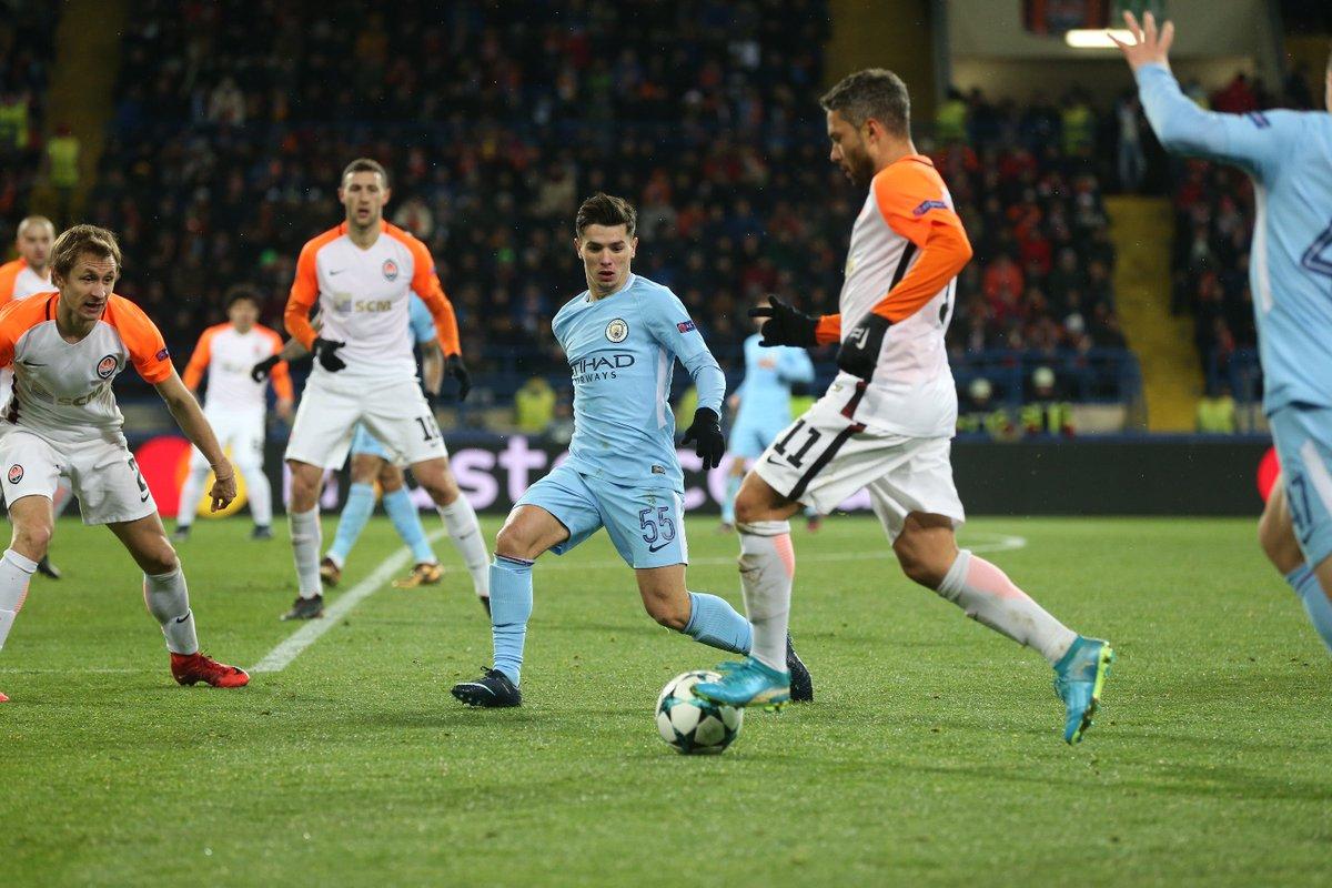 أهداف مباراة شاختار ومانشستر سيتي 2-1 دوري الأبطال