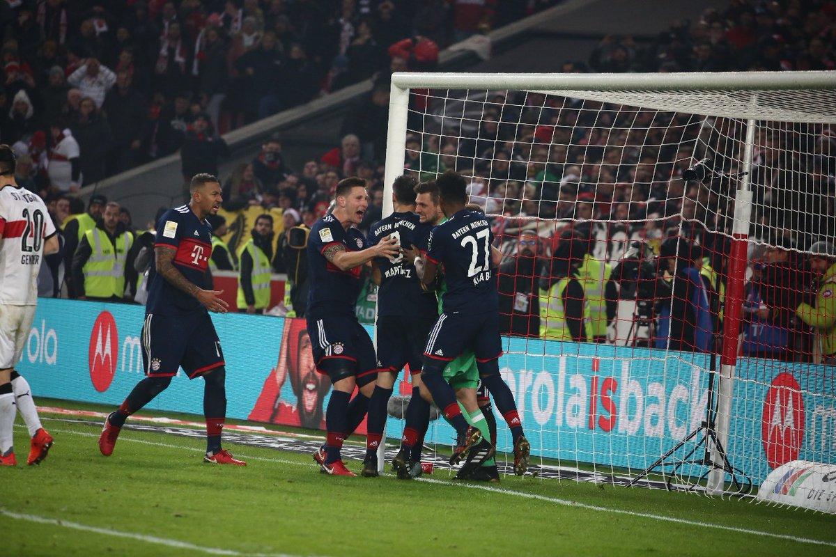أهداف مباراة بايرن ميونخ وشتوتغارت 1-0 الدوري الألماني