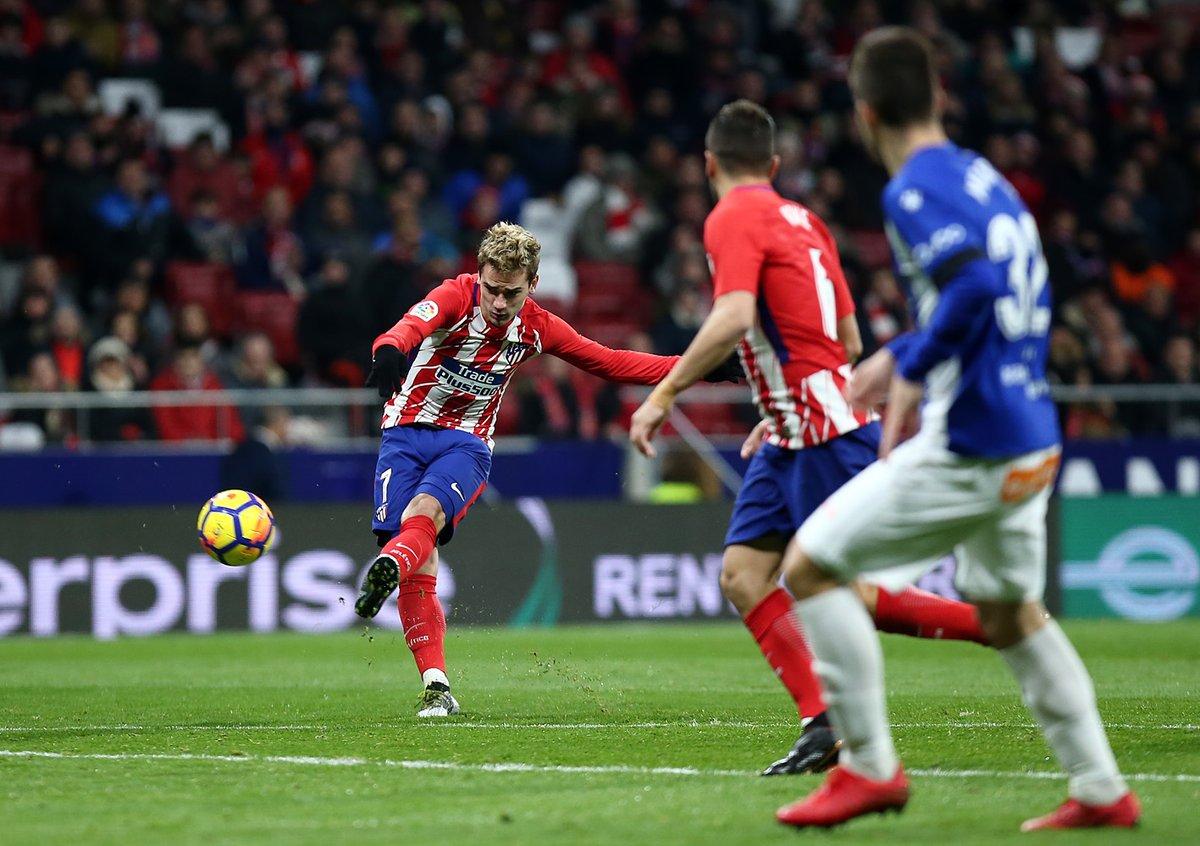 أهداف مباراة أتلتيكو مدريد وديبورتيفو ألافيس 1-0 الدوري الإسباني