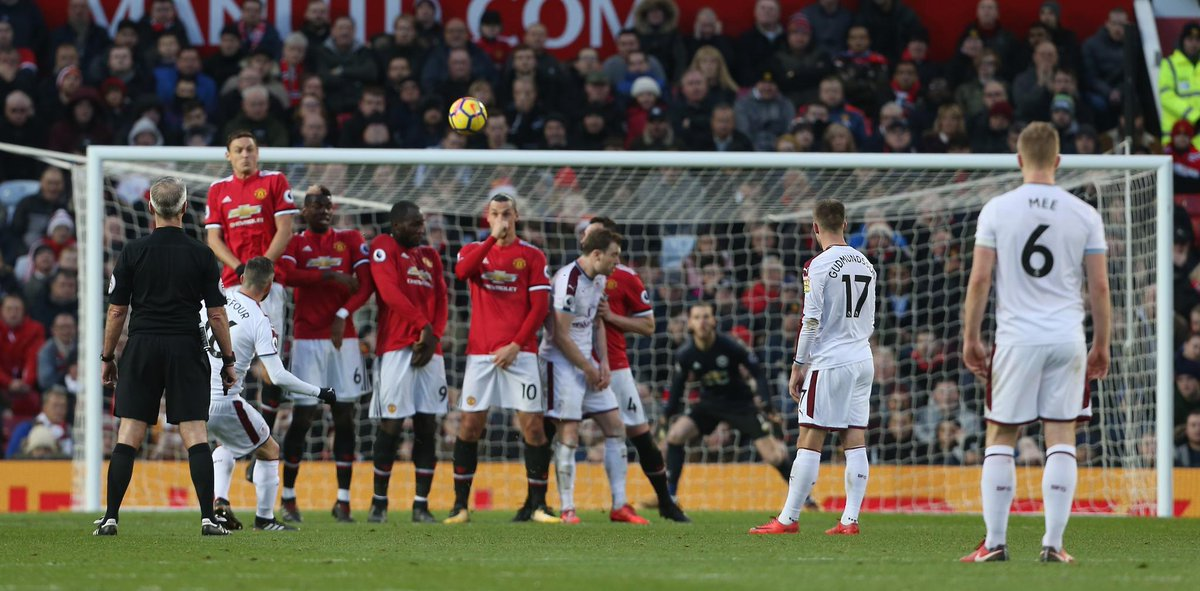 أهداف مباراة مانشستر وينايتد وبيرنلي 2-2 الدوري الإنجليزي