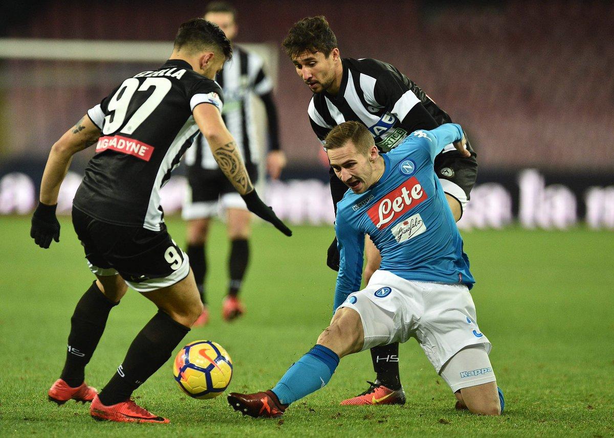 أهداف مباراة نابولي وأودينيزي 1-0 كأس إيطاليا