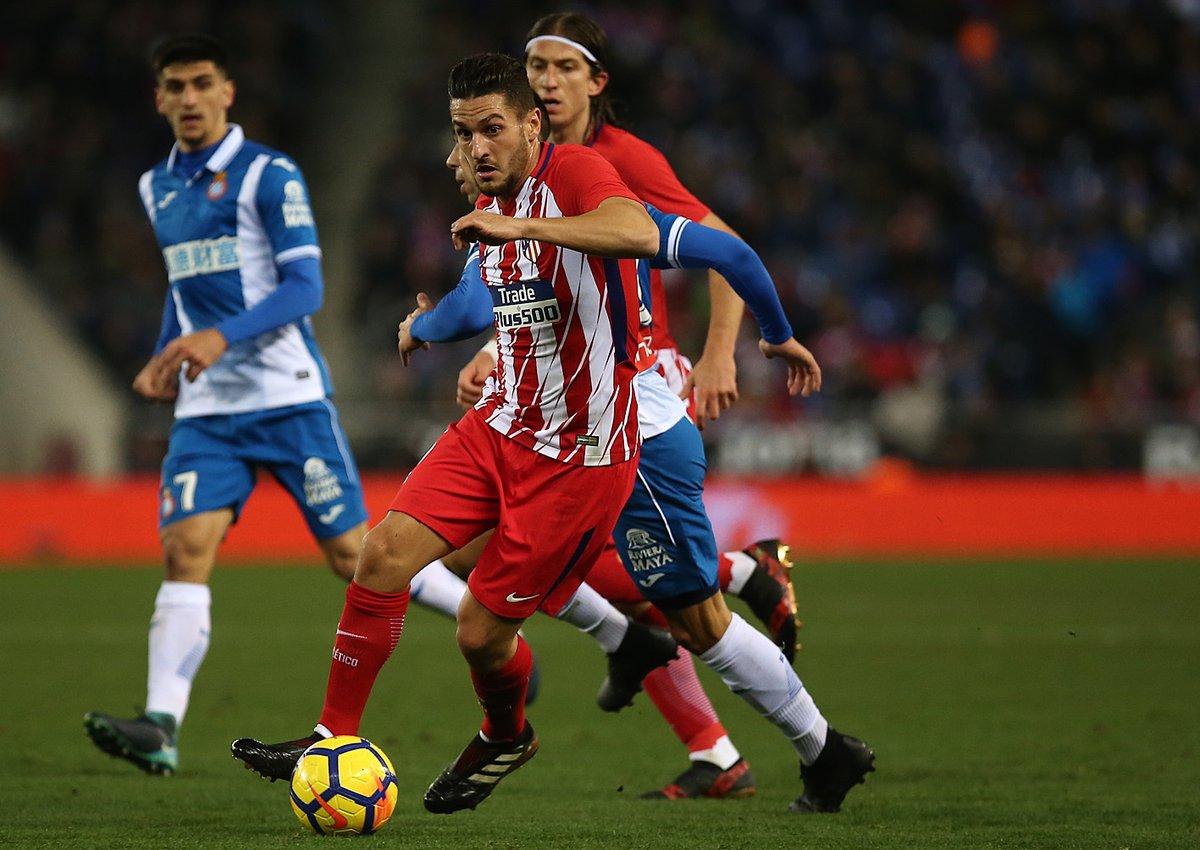 أهداف مباراة إسبانيول وأتلتيكو مدريد 1-0 الدوري الإسباني