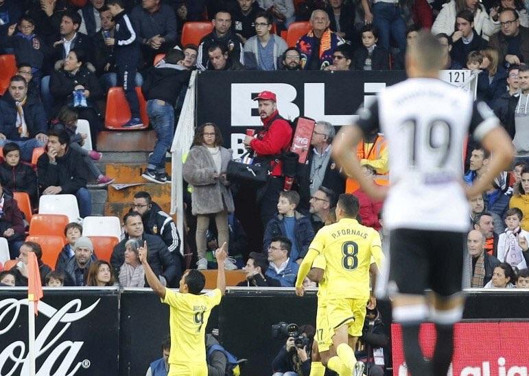 أهداف مباراة فياريال وفالنسيا 1-0 الدوري الإسباني