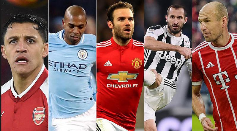 أبرز 20 لاعب تنتهي عقودهم مع نهاية الموسم الحالي !