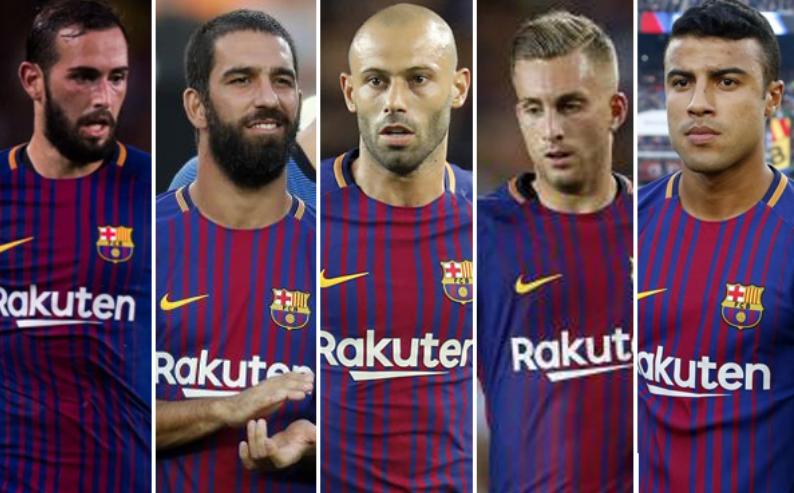 تقارير إسبانية: برشلونة يقرر بيع 5 لاعبين في الميركاتو الشتوي