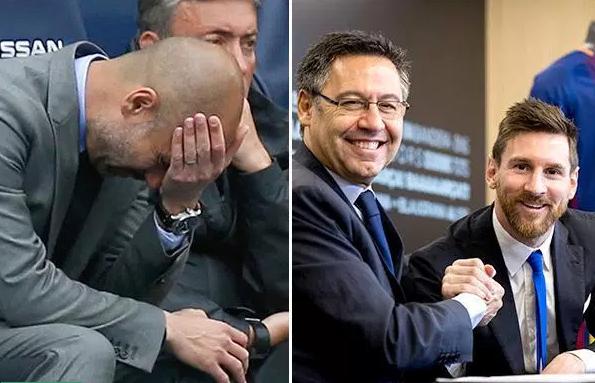 غوارديولا ينقلب على ميسي بعد تجديد عقده مع برشلونة !