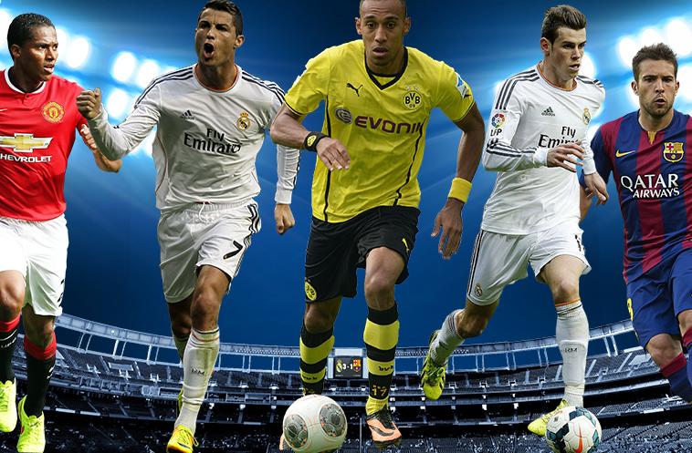 شاهد … أسرع 10 لاعبين كرة قدم في العالم
