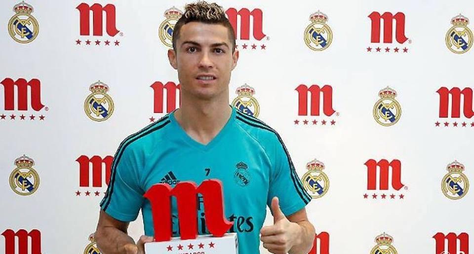 رسمياً … رونالدو أفضل لاعب بريال مدريد في شهر ديسمبر الماضي