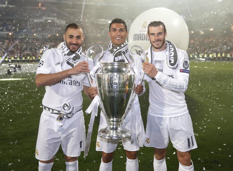 """الـ""""BBC"""" يرفع رصيده لـ400 هدف مع ريال مدريد"""