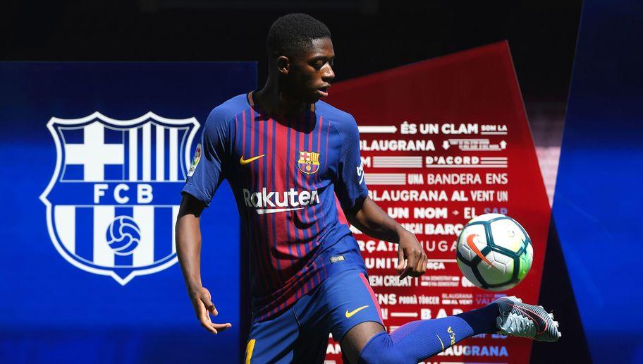 رسمياً … ديمبلي يغيب 4 أسابيع عن برشلونة للإصابة