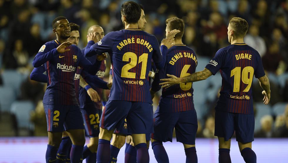 أهداف مباراة برشلونة وسليتا فيغو 1-1 كأس إسبانيا
