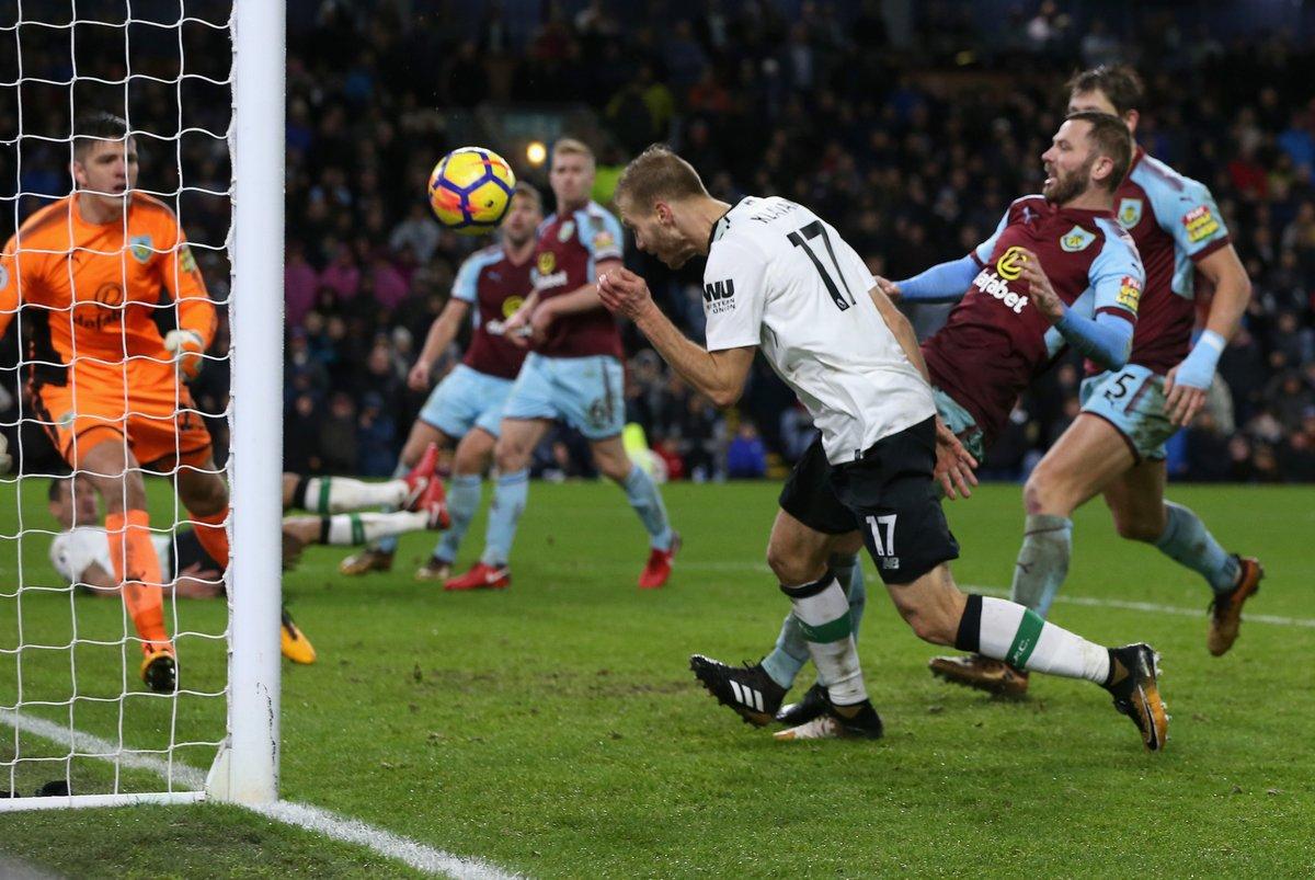 أهداف مباراة ليفربول و بيرنلي 2-1 الدوري الإنجليزي