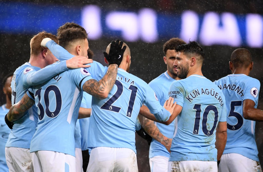 أهداف مباراة مانشستر سيتي وواتفورد 3-1 الدوري الإنجليزي