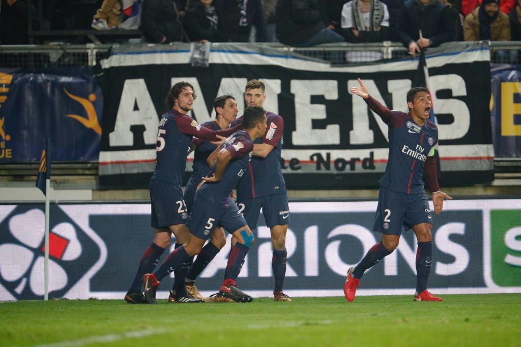 أهداف مباراة باريس سان جيرمان وأميان 2-0 كأس الرابطة الفرنسية