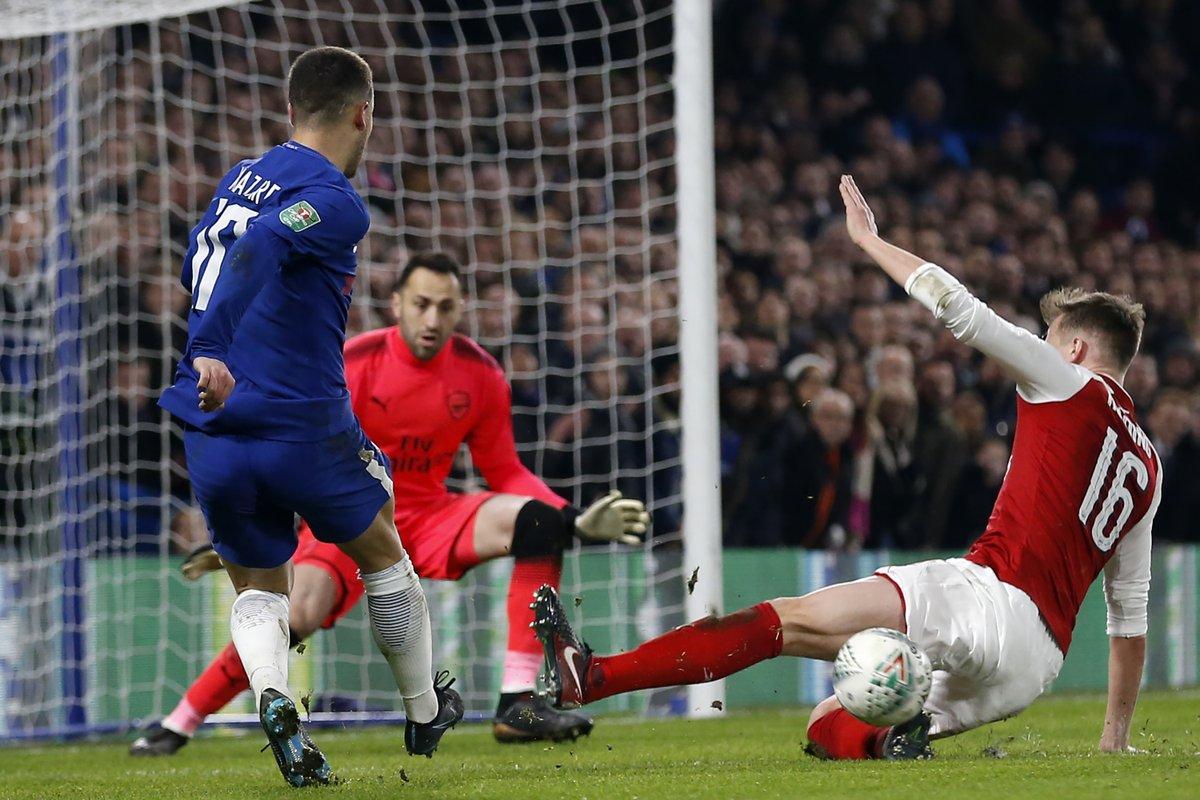 شاهد ملخص مباراة تشيلسي وأرسنال 0-0 كأس الرابطة الإنجليزية