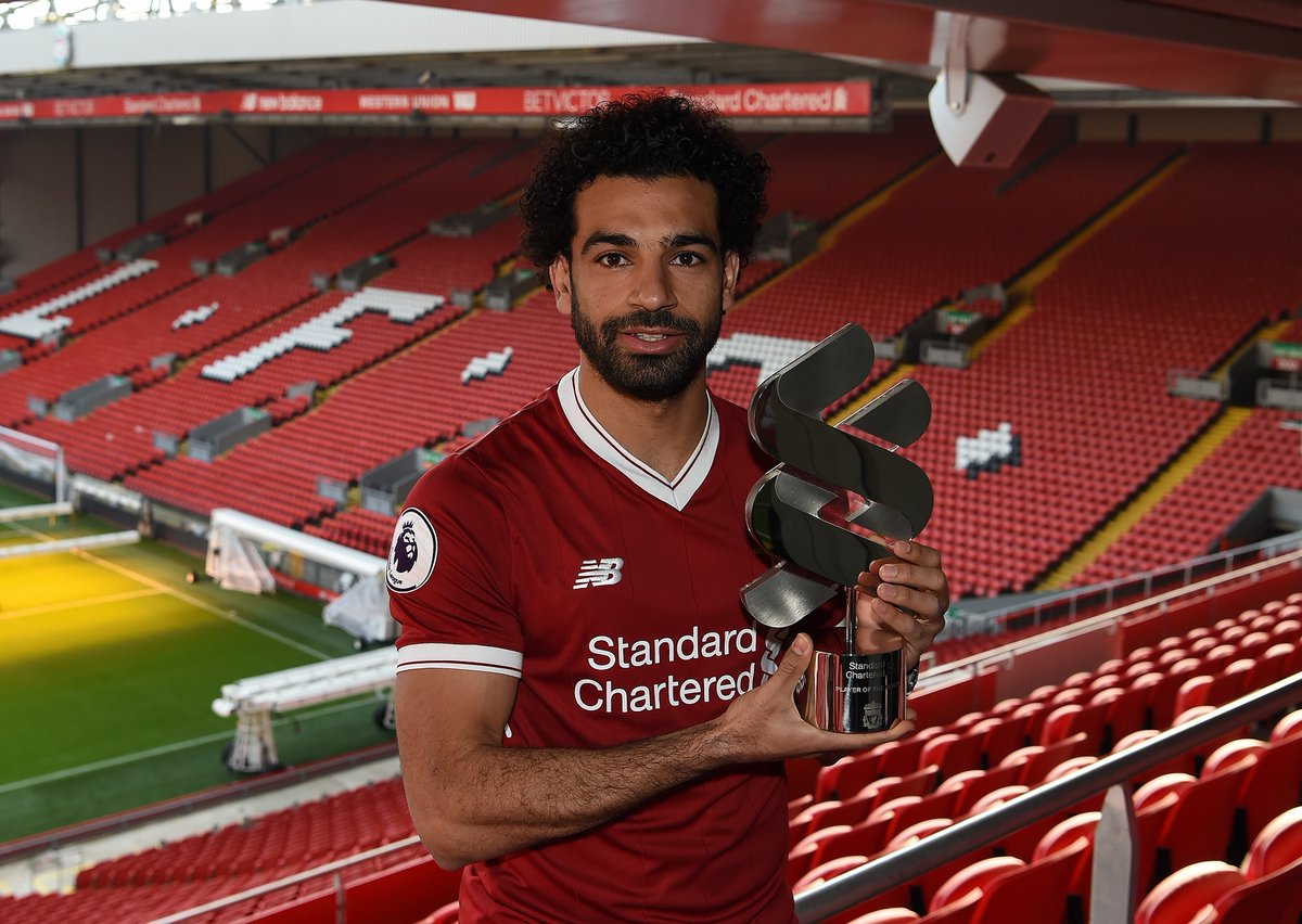 رسمياً … محمد صلاح أفضل لاعب فى ليفربول للمرة الرابعة