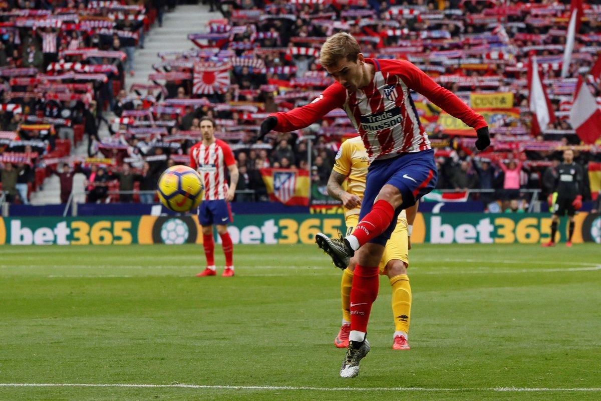 أهداف مباراة أتلتيكو مدريد وجيرونا 1-1 الدوري الإسباني