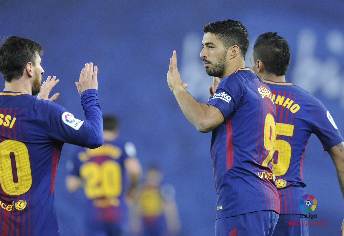أهداف مباراة برشلونة وريال سوسيداد 4-2 الدوري الإسباني
