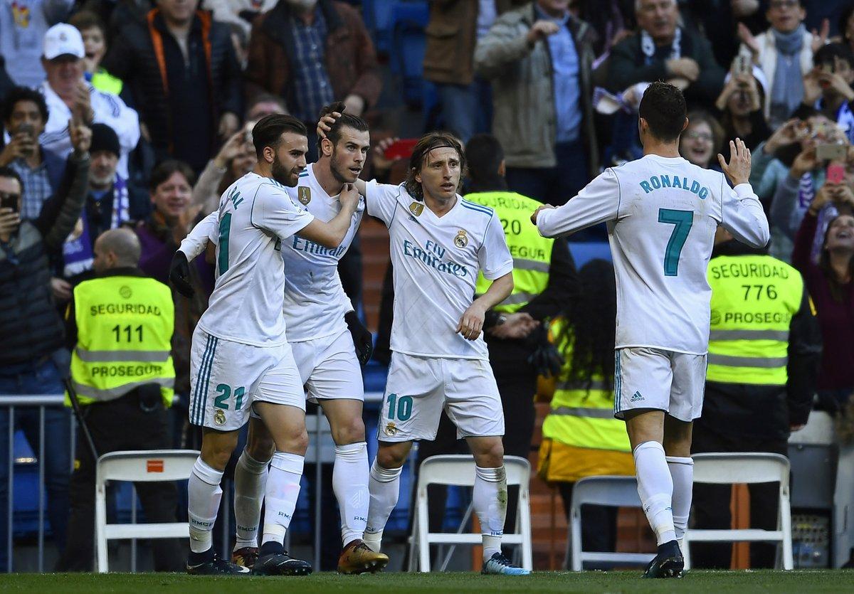 أهداف مباراة ريال مدريد و ديبورتيفو 7-1 الدوري الإسباني