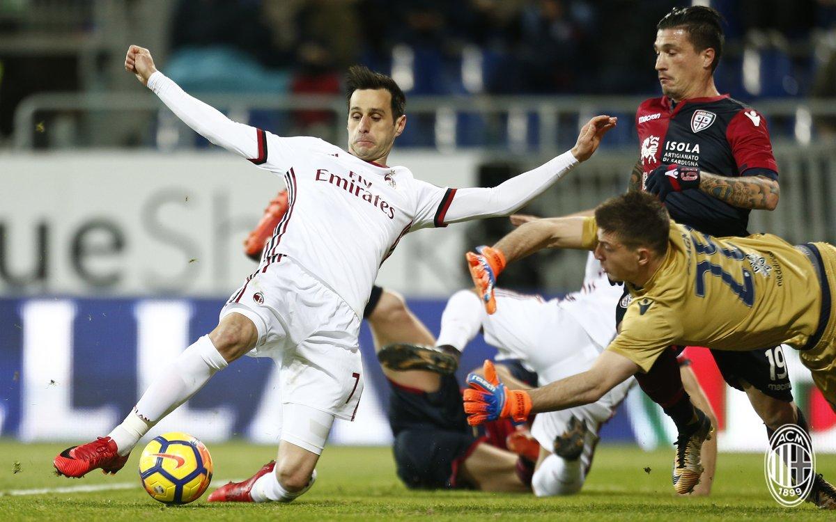 أهداف مباراة ميلان وكالياري 2-1 الدوري الإيطالي
