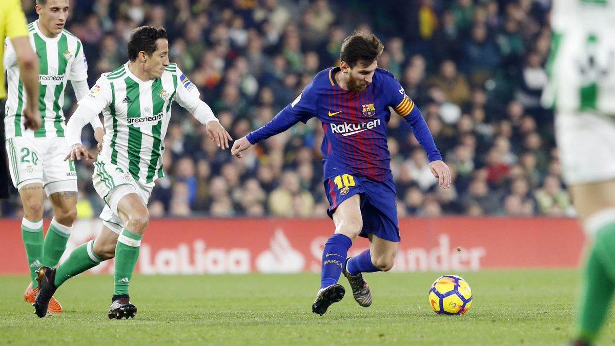 أهداف مباراة برشلونة وريال بيتيس 5-0 الدوري الإسباني
