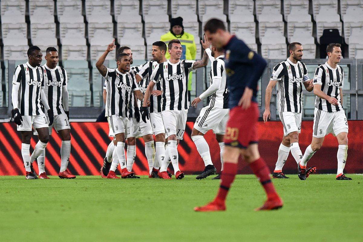أهداف مباراة يوفنتوس وجنوى 1-0 الدوري الإيطالي