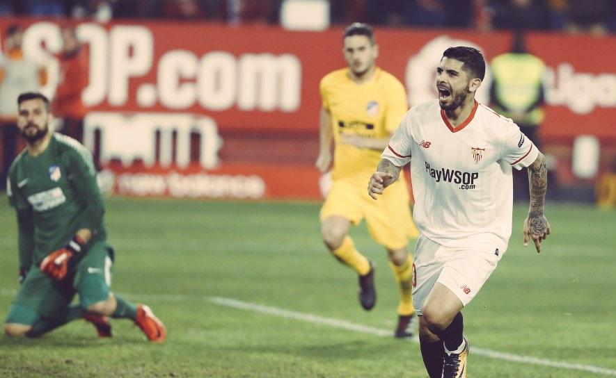 أهداف مباراة إشبيلية وأتلتيكو مدريد 3-1 كأس ملك إسبانيا