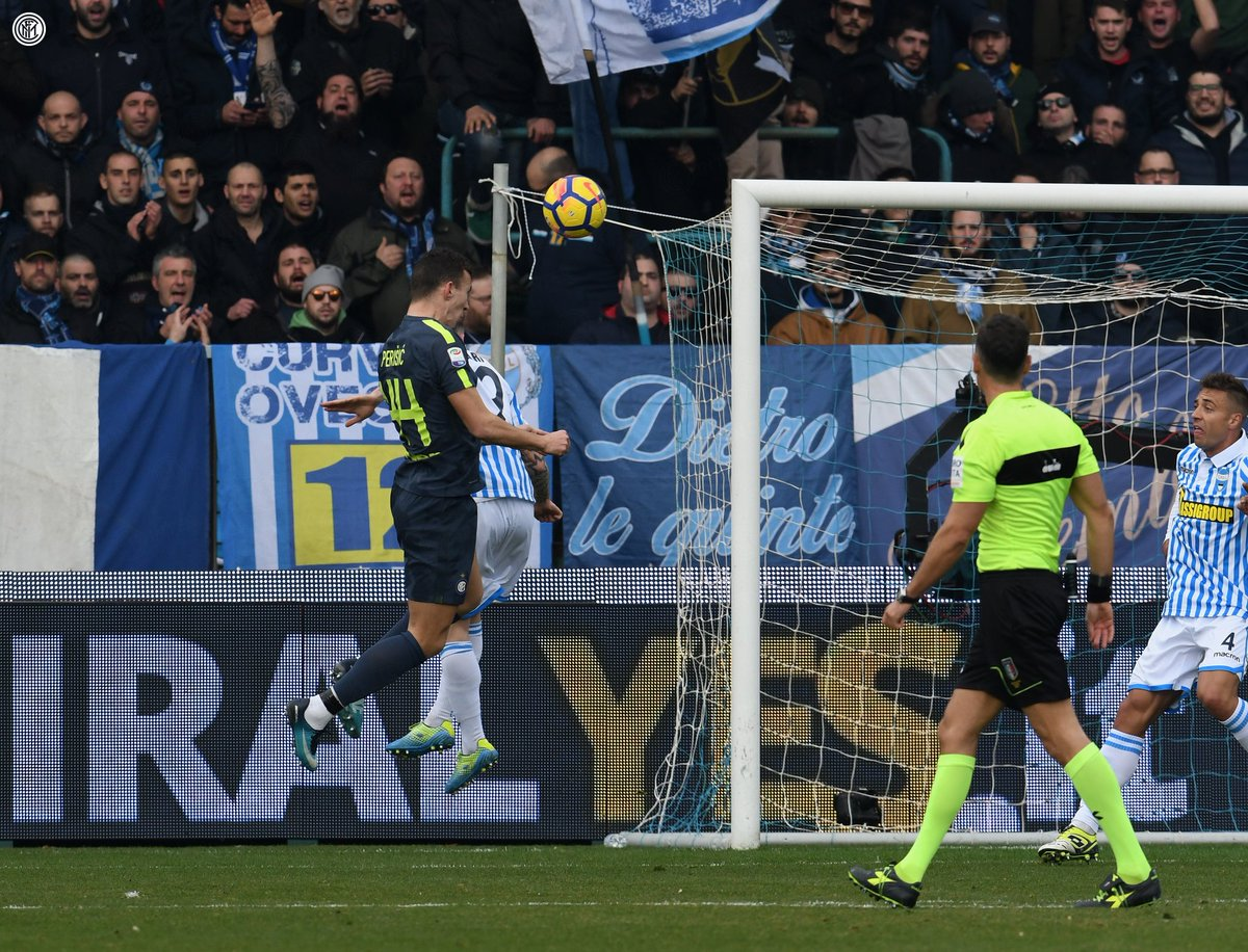 أهداف مباراة إنتر ميلان وسبال 1-1 الدوري الإيطالي